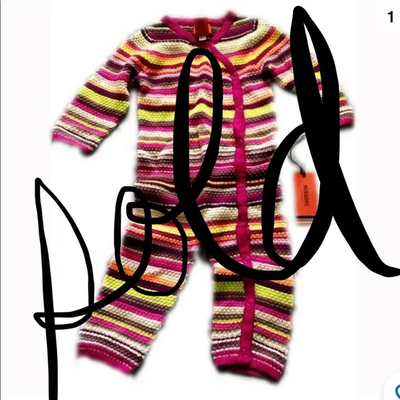 Missoni for Target Other - Missoni for Target Baby One Piece Jump Suit 6-12